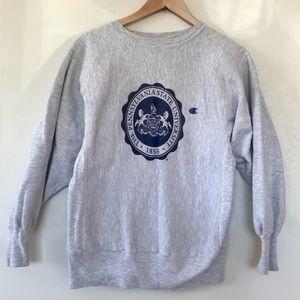 Champion Penn State University Gray Sweatshirt